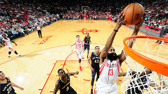At 25, James Harden is on track to become a perennial All-NBA contender for years to come.